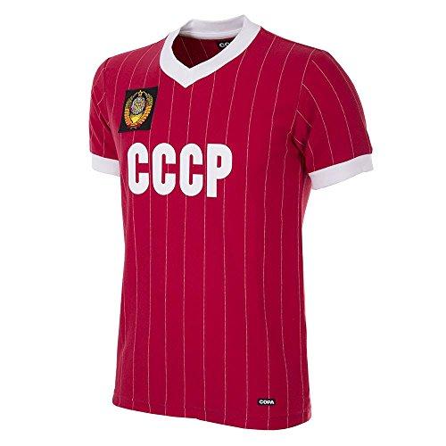 Copa CCCP Russland Retro Trikot WM 1982 rot rot, S