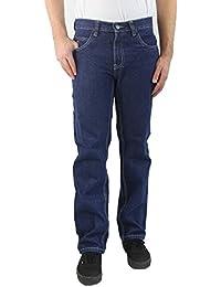 247 JEANS – Jean Homme, Classic Fit, Bleu jean moyen, Wolf D10, N601D10002