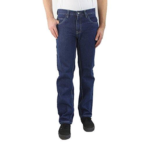 Preisvergleich Produktbild 247 JEANS - Herrenarbeitsjeans, Größe W38 L36, Classic Fit, Medium Blue Denim, Wolf D10, N601D10002