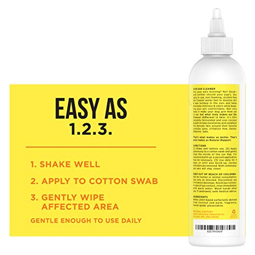 Zoom IMG-2 natural rapport dog ear cleaner