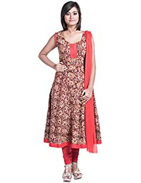 Cynthia's Fashion, CFK297_COT_AK_SS_KKR, Cotton Printed, Anarkali Salwar Suit With Cotton Churidar Or Churi Leggings...