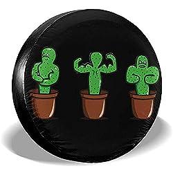Dem Boswell Cactus Reserveradabdeckung Wasserdicht Staubdicht Universal Reserveradabdeckung 14 Zoll
