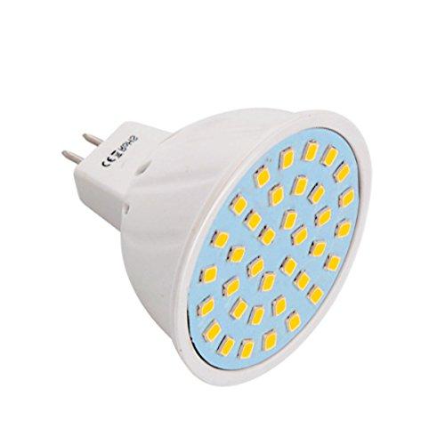 JIALUN-LED MR16 36LED 3W 2835SMD 200-300Lm Blanco cálido Blanco frío LED proyector...