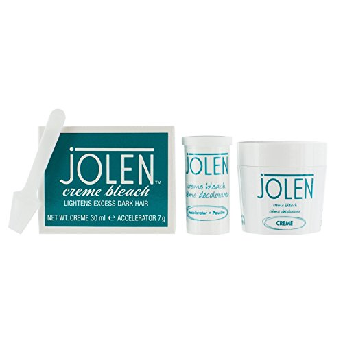 Jolen Creme Bleach-lightens excess dark hair