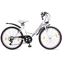 Orbis 26 Zoll MTB Mountainbike MÄDCHENFAHRRAD Kinder Jugend Fahrrad KINDERFAHRRAD Bike Voltage Lady White MTB 7 Gang