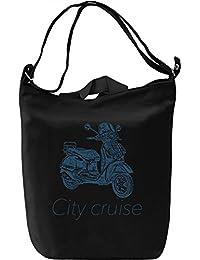 City cruiser Bolsa de mano Día Canvas Day Bag| 100% Premium Cotton Canvas| DTG Printing|