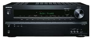 Onkyo TX-NR414 5.1 Netzwerk AV-Receiver (HD-Audio, 3D Ready, RDS, USB 2.0, Apple iPhone/iPod, 130 W/Kanal) schwarz