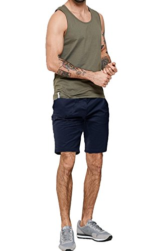 Threadbare - Short - Chino - Homme Bleu marine/bleu
