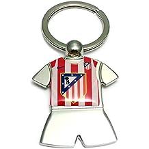 Llavero metálico escudo Atlético de Madrid 8cm. [AA9313GR] - Personalizable - GRABACIÓN INCLUIDA EN EL PRECIO