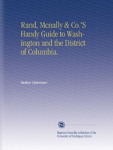 Washington State Handy (Rand, Mcnally & Co.'S Handy Guide to Washington and the District of Columbia.)