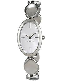 Esprit Damen-Armbanduhr ES-ALLIE SILVER Analog Quarz Edelstahl ES108592001