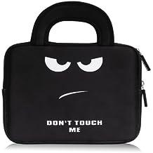 MoKo Funda de Fieltro Universal - Portátil Sleeve Bag 7-8 Pulgadas Maletín de Neopreno Cover Case para iPad Mini 4 3 2 1 / Samsung Galaxy Tab S2 8.0 / Dragon Touch Y88X Plus Tableta, No Me Toques