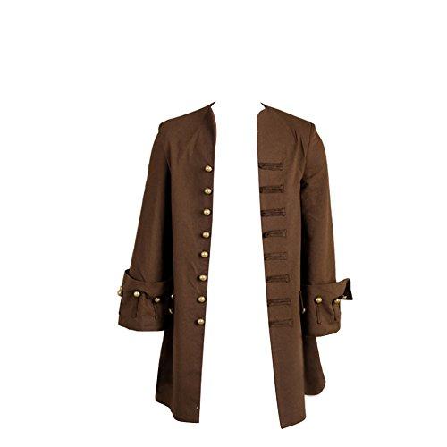 Jack Sparrow Jacket Mantel Cosplay Kostüm Sparrow Jacket