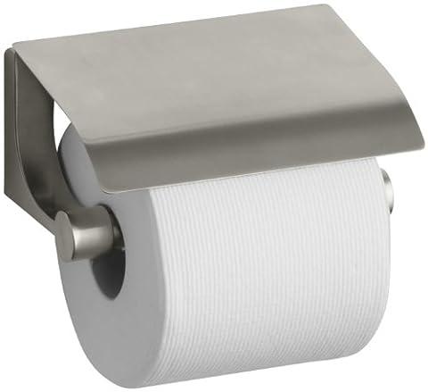 Kohler k-11584-bn LOURE verdeckt Toilettenpapier Halter, Vibrant, Nickel gebürstet (Bn Vibrant Nickel Gebürstet Wc)
