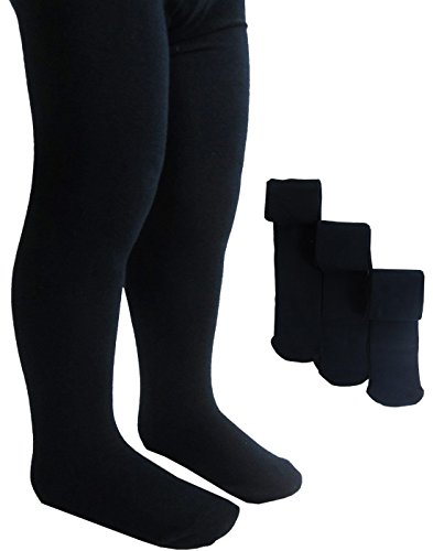 ex-ms-3-pairs-of-girls-school-tights-soft-cotton-rich-stretch-tights-black-11-12-years-11-12-years-b