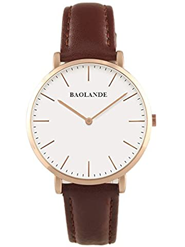 Alienwork Quarz Armbanduhr elegant Quarzuhr Uhr modisch Zeitloses Design klassisch