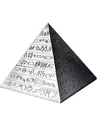 SHULING Cenicero Creativo De La Pirámide Diseño Retro De La Clavícula del Diseño De La Personalidad
