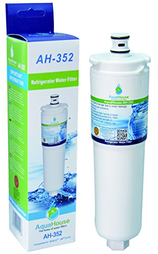 Aquahouse AH-352 kompatibel Wasserfilter für Bosch / Neff / Siemens Kühlschrank 3M CS-52, CS-452, CS-51, 640565, 5586605