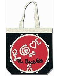 Beatles - Einkaufstasche Love Drum