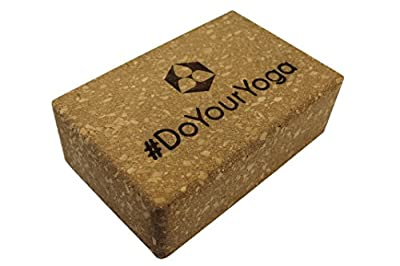 Yoga-Korkblock »KinnariÂ« / Yogaklotz aus 100% Natur-Kork, ideal zur Unterstützung spezieller Yoga-Übungen / Maße: 23 x 15 x 7,5cm