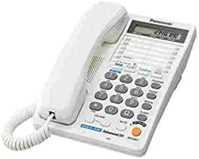 Panasonic Two line KX-T2378MXWD Corded Telephone (White)