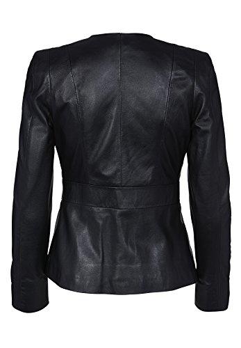APART Fashion Damen Blazer 40333 Schwarz (Schwarz)