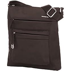Samsonite Move 2.0 Mini Shoulder Bag iPad Bolso Bandolera, 1.4 litros, Color Marrón Oscuro