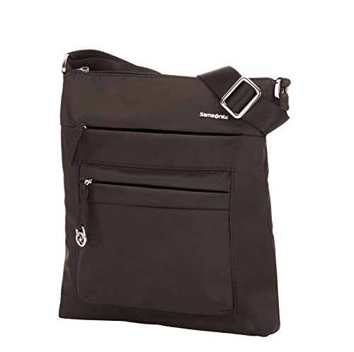 Samsonite Move 2.0 Mini Shoulder Bag iPad Bolso Bandolera, 1.4 litros, Color Marrón Oscuro