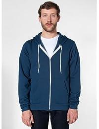 American Apparel Flex fleece zip hoody (F497) Sea Blue S