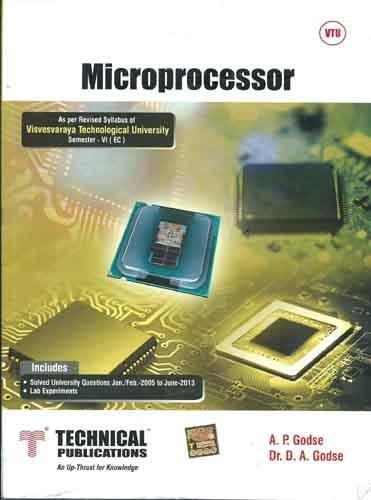 Microprocessors for VTU (VI ECE)