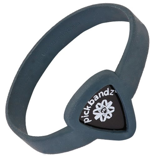 'Chitarra adultlargetimberwol fgray Pick Bracciale Holder