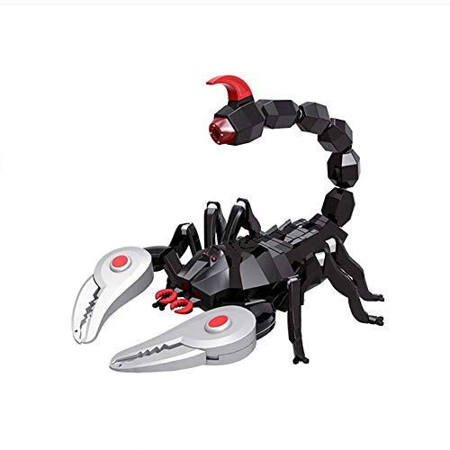 MEILA Echte Fernbedienung Auto Spielzeug Spiderman Kind Fernbedienung Junge Geschenk Kind Skorpion Elektroauto Tier Krabbeln (Color : Scorpion) (Scorpions-spielzeug)