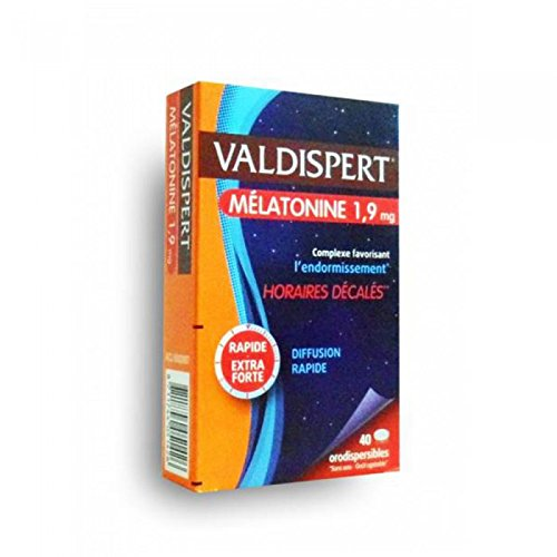 Valdispert Mélatonine 1,9 mg 40 Comprimés