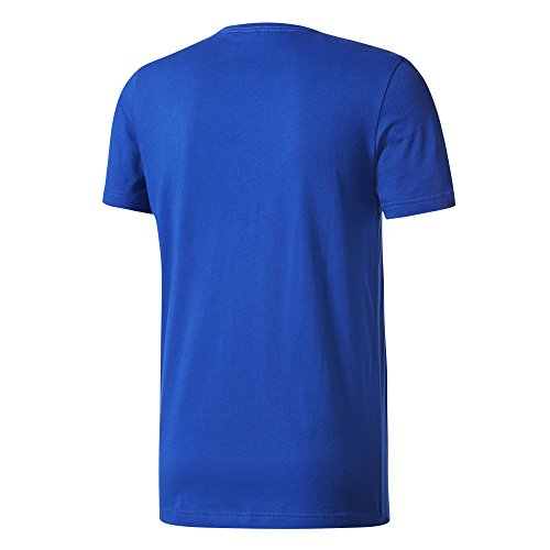 adidas Herren Bos Foil T-Shirt Blue/Reauni