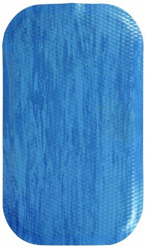 Andersen 449120312 Hog Heaven SBR - Alfombrilla antifatiga para suelo (parte superior de mármol, parte superior de goma de nitrilo/PVC, respaldo de cojín de goma de 30,48 cm de largo x 7,62 cm de ancho, 7/8' de espesor, color azul