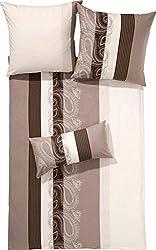 Janine Design Mako-Satin Bettwäsche Palermo 31015-07 1 Bettbezug 135x200 cm + 1 Kissenbezug 80x80 cm