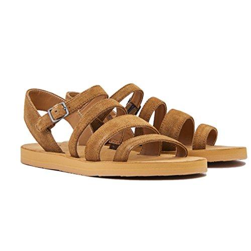 Marrone Chestnut Caviglia con Alla Alyse Cinturino Sandali Donna UGG Australia xwq8Pz8S
