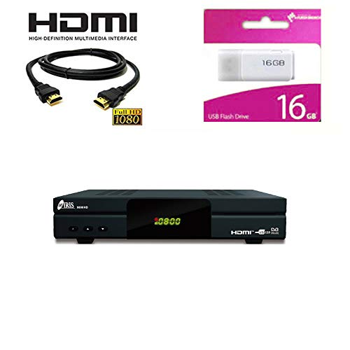 Kit Receptor SATELITE IRIS 9800 HD -DIGITALIA- con HADMI Y Regalo Memoria USB...