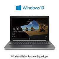 HP 15-da1013ne Laptop, Intel Core i5-8265U, 15.6 Inch, 1TB HDD, 8GB RAM, NVIDIA GeForce MX110 (2GB GDDR5) Graphics, DVD-RW, Windows 10 Home, Eng-Arb KB, Silver