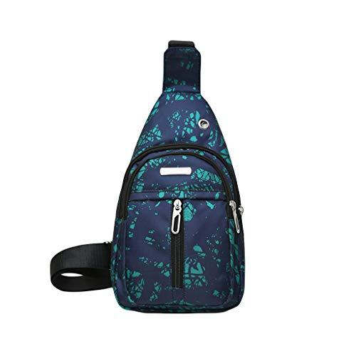 Mitlfuny handbemalte Ledertasche, Schultertasche, Geschenk, Handgefertigte Tasche,Unisex Liebhaber Mode Tasche Stein Rift Textur Umhängetasche Umhängetasche Brusttasche