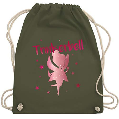 - Trinkerbell Rot - Unisize - Olivgrün - WM110 - Turnbeutel & Gym Bag ()