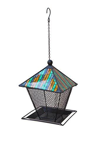Home 2 Garden 507959 Mosaic Roof Mesh Bird Feeder - Multi-Colour