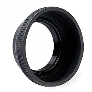 B+W 900 Gummi-Gegenlichtblende (Streulichtblende, Sonnenblende) faltbar 58mm
