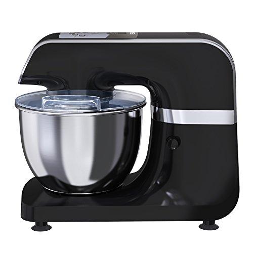 mliter Robot de cuisine machine à pétrir Noir