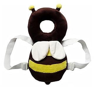 Little Sporter Baby kopfschutz Kissen Verstellbar Schutz Kopfkissen Sicherheits Kleinkind Biene Kopflehnen Kissen Hals Drop Kissen Fallschutz Schutzpolster Für Baby Wanderer