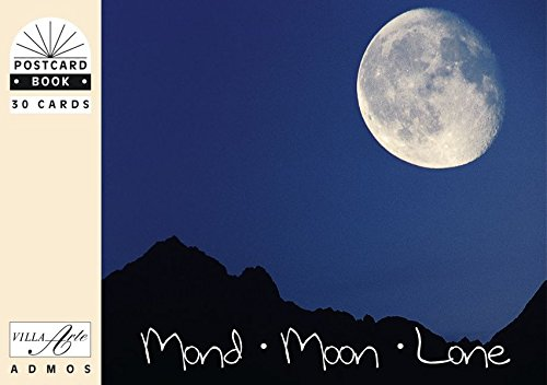 Mond /Moon /Lone: Postkartenbuch