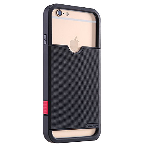 "Nillkin - Coque Nillkin Shield Show - iPhone 6 (4.7"") - Rouge Noir"
