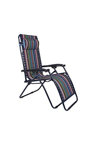 Mountain Warehouse Chaise Longue Pliante De Jardin Confort