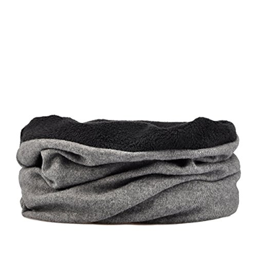 WinCret 3 in 1 Winter Multifunktionstuch - Warmer Halstuch Motorrad Schlauchtuch Face Shield mit Samt Futter Rundschal für Damen Herren (Militär Olive Hut)