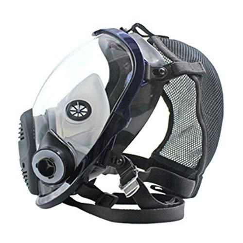 Máscara del respirador, Anti Gas ácido de Polvo Llena máscara de respiración con Filtro Dual, para la pulverización de la Pintura Industrial químico de Gas de protección respiratoria